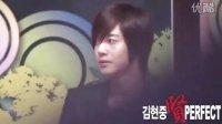 20100826 [Fancam]Kim Hyun Joong at the MBC Press 1