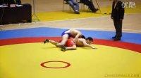 高清古典式摔跤比赛