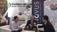 世界畜产大会上采访诺伟司Chris D.Knight博士和孙得发博士