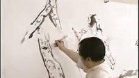 国学大师范曾先生 展示国学文化 国画技法