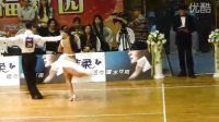 2010年24届CBDF国标舞锦标赛 职业拉丁舞季军 王冰 周紫月 半决赛 斗牛