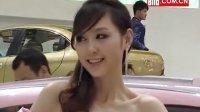 上海车展上的漂亮奇瑞车模