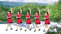 高安欣悦广场舞-华丽丽的情歌为你唱。抠像(附背面分解)