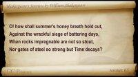 听力资料:莎士比亚十四行诗(英语朗读)