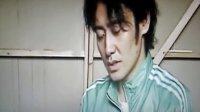 吴秀波在西安接受青岛电视台记者的采访(2)