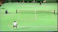 费德勒击球集锦 反手手腕挑球主动得分 Roger Federer - Backhand Flicks