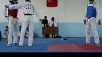 学长这只是个跆拳道比赛 不用下死手吧