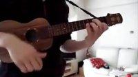 22才の別れ (solo ukulele)