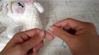 第三十二集 可爱 小绵羊背包 泡泡编织 视频教程