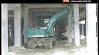 劲工挖掘机现场施工视频
