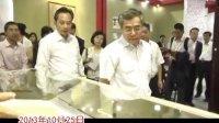第六届海峡两岸文博会 文化部副部长项兆伦等领导巡馆