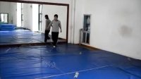 威舞堂啊翔在温州体育学院练拉拉提