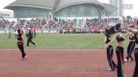 青岛大学2013年运动会闭幕式健美操表演