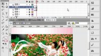 flash cs5视频教程715 婚纱Banner导航3