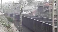 东风3414煤列下行通过区路里(4-20)