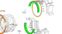 机械密封 特殊密封 TSSP-FA01 mechanical seal 组装动画 上海天示