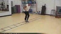 武科星体育速度敏捷灵活性等训练梯训练方法之一