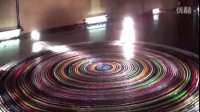 World Record Most dominoes toppled in a spiral (30,000) complete Toppling