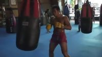 泰拳王雅桑克莱Yodsanklai Fairtex  Pattaya训练