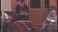 夏威夷吉他老紫檀乐队(纺织姑娘)