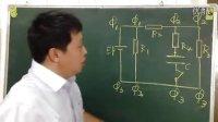 高中物理解题视频哈六中郑筱平电流含容电路江苏高考-原来不带电.求接通电键K后流过
