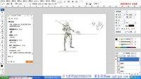 【游戏角色的动作设计】名动漫原画插画绘画模型板绘课程