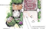 园林景观手绘建筑电脑PS手绘彩平技巧 景观设计总平图qljgw.com