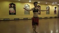 西安肚皮舞视频——直立八字胯教学