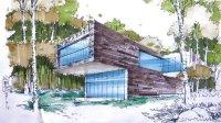 陈立飞老师 建筑手绘(1)—广州零角度手绘培训视频