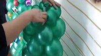 圣诞树气球立柱制作方法
