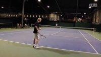 【零凌网球】教学篇——Adam Gustavsson(正手爆发力很不错)