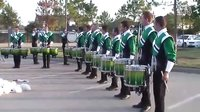 Cavaliers Drumline in the lot - Houston 2011