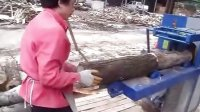 Wood saws cut into planks