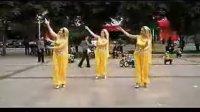 周思萍广场舞 印度舞(黄色印度着装)