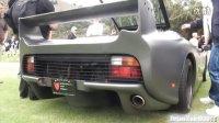哑光黑捷豹XJ220S亮相意大利车展
