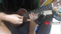 While My Guitar Gently Weeps Ukulele指弹独奏