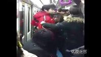 【拍客】北京地铁5号线官二代怒打地铁痴汉.