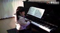 汤普森钢琴简易教程2《芭蕾演员》,30分钟磨练练习效果对比
