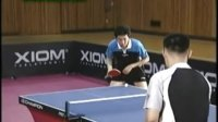 乒乓球教学视频:反手推挡(柳承敏)