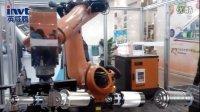 首例国产永磁同步电主轴在工业机器人手臂上的应用演示