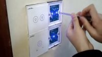 卓居joyrill智能家居智能遥控触摸开关安装调试教学视频