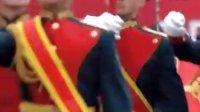 2011红场阅兵出旗