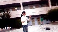 王希庆07级合唱保卫黄河排练