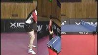 乒乓球教学视频:正手搓球(柳承敏)