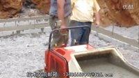 日本筑水履带式水泥搬运车在美国作业现场