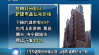 山东卫视:64城止涨 山东四城市环比下跌