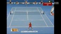 2009澳大利亚网球公开赛女单R3 阿扎伦卡VS毛瑞斯莫 (自制HL)