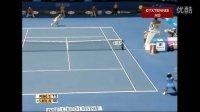 2009澳大利亚网球公开赛女单R3 小威廉姆斯VS彭帅 (自制HL)