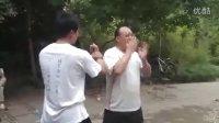 张鹏传授太极拳-翻身二起脚3