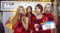 140103 KBS音乐银行 Girls day--Something 回归采访